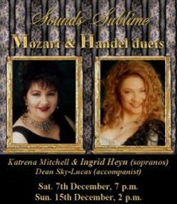 Sounds Sublime - Mozart and Handel Duets